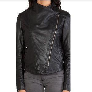Mackage Pina Black Classic Leather Jacket